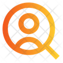Search Employee Search Recruitment Icon