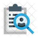 Search Employee Search Worker Search Find Icon