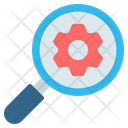Search Engine Magnifying Glass Icon