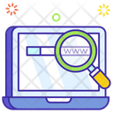 Seo Search Engine Browser Icon