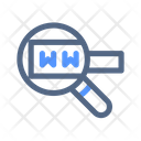 Search Engine Magnifier Icon