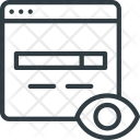 Search Engine Monitoring Icon