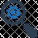 Seo Engine Gear Icon