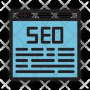 Browser Seo Web Icon