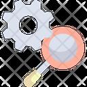 Search Engine Optimization Seo And Web Loupe Icon
