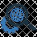 Engine Internet Optimization Icon
