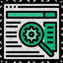 Search Engine Optimization Seo Marketing Icon