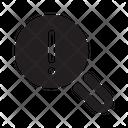 Magnifer Seo Business Icon