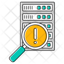 Search Error Database Icon