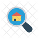Search Estate House Icon