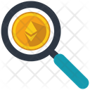 Ethereum Search Marketing Icon