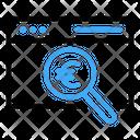Search Web Euro Icon