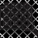 Search Event Magnifier Calendar Icon