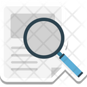 Search File File Search Icon