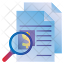 Seo Business Search Icon