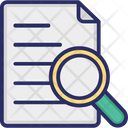 Text Search Audit Icon