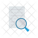 Magnifier Page File Icon