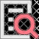 Search Find Megnifyer Icon