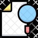 Search File Find File Search Document Icon