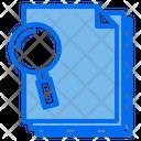Find Files Paper Icon