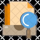Archive Document Data Icon
