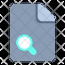 Search File Search Find Icon