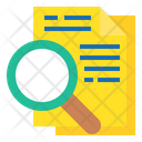 Search File Find Document Icon