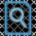 Search File Find File Search Icon