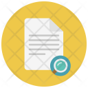 Search Paper Notes Icon