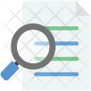 Search File Documents Icon