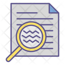 File Searching Office Icon