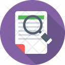 Search File Scanning Icon