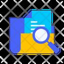 Search File Folder Icon