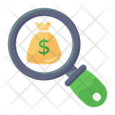 Search Money Search Finance Search Currency Icon