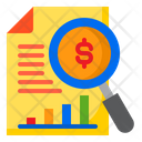 Search Money Business Icon