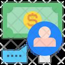 Money Find User Icon