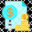 Coin Money Find Icon