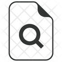 Search Find Document Icon