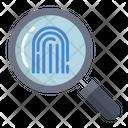 Search Fingerprint Icon