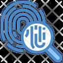 Search Fingerprint Search Fingerprint Icon