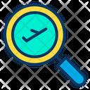Aviation Find Find Flight Icon