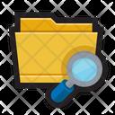 Folder Search Icon