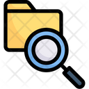 Search Data Folder Scan Icon