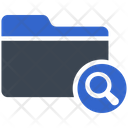 Search Find Archive Icon