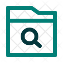 Magnifier Search Scan Icon