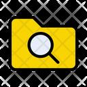 Folder Directory Search Icon
