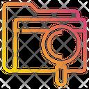Folder Data Work Icon