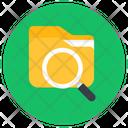 Search Folder Search Data Search File Icon