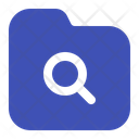Search Folder Find Magnifier Icon
