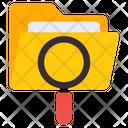 Search Folder Scan Folder Find Folder Icon